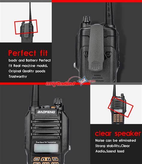 Boafeng Bf 9r baofeng uv 9r ip67 waterproof dual band two way radio bf uv9r handheld 8w walkie talkie walkie
