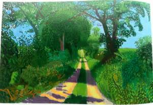 Landscape Pictures By David Hockney David Hockney S Landscapes Pattern