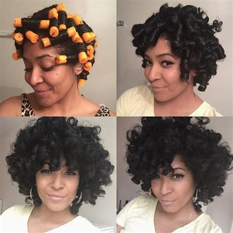 how to do a perm rod set on a twa fluffcoif perm rod set success after many failed