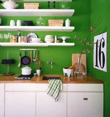 kitchens with shelves green wall colors green kitchen and shelving on pinterest