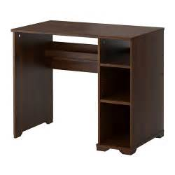 Ikea Computer Armoire Borgsj 214 Desk Brown Ikea