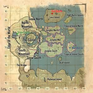 center map ark survival evolved guide the center map
