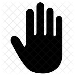 stop icon  glyph style   svg png eps ai