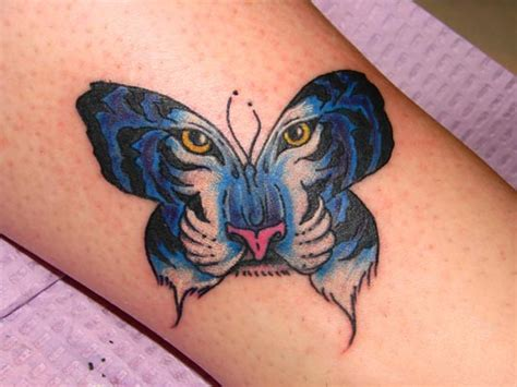 tiger butterfly tattoo butterfly tattoos and designs page 265