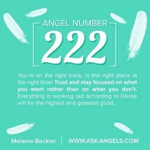 what is an ask angel number 222 what does it mean