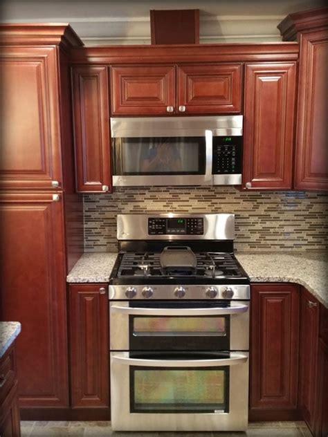 lily ann kitchen cabinets charleston cherry kitchen cabinets made by lily ann