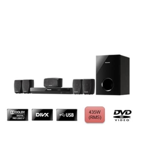 panasonic sc xh20 code free home theater system 110 220