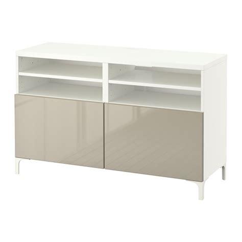 ikea besta white gloss best 197 tv unit with doors 120x40x74 cm white selsviken