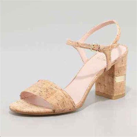 Hibiscus Print Slingback Sandals By Scorah Pattullo by Cork Block Stuart Weitzman Shoes Kate Spade Shoes And