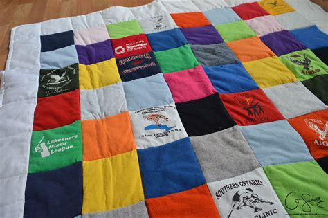A custom t shirt baby quilt madness amp method