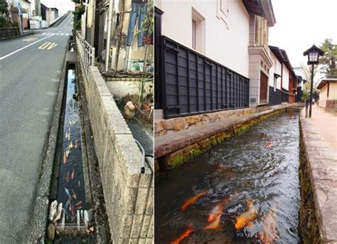 Air Di Jepang selokan jernih berisi ikan koi di jepang keren pisan cuy kejadian aneh tapi nyata