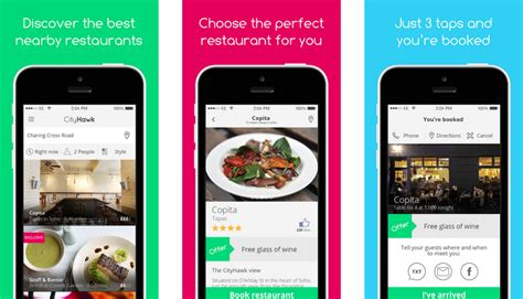 best booking app eateries cityhawk the new app that takes the