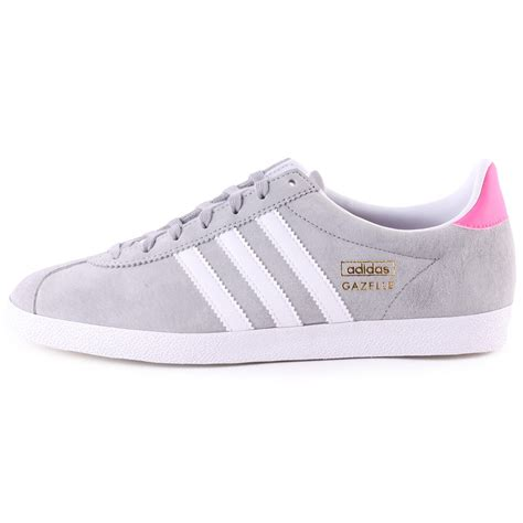 light up trainers womens adidas gazelle og womens trainers in light grey