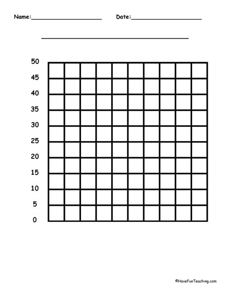 printable graph paper for first grade blank bar graph template for second grade graphing
