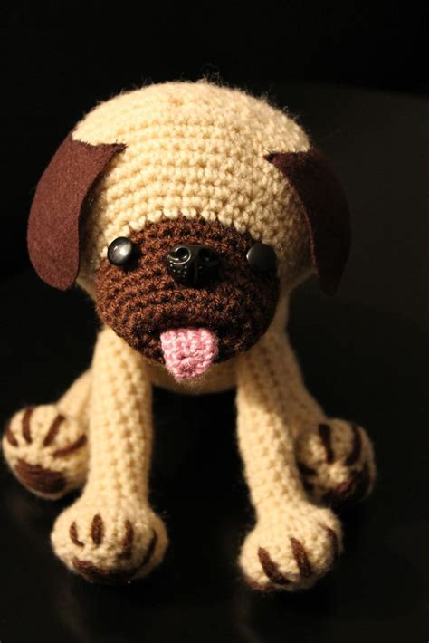 crochet pug 1000 images about sad the makerspace craft on for dogs puppys and