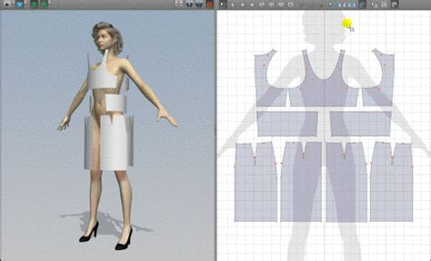 dress pattern design software free amazing 3d graphic software for fashion designers iconshots