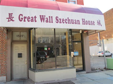 szechuan house great wall szechuan house renovation completed in logan circle popville