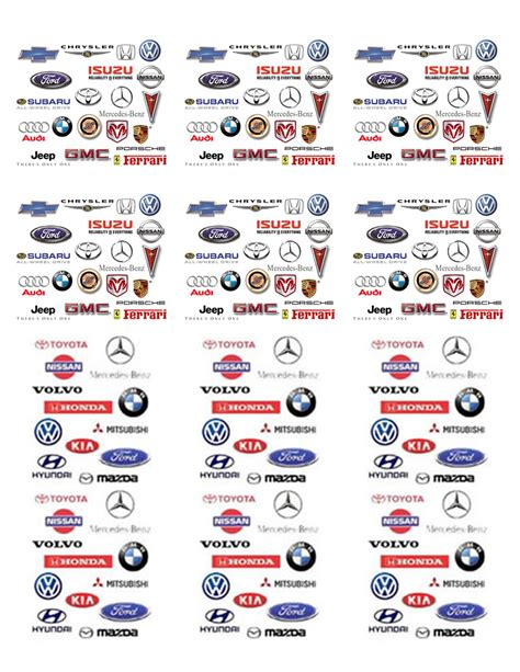 car logos and names list all car brands list and car logos by country a z chainimage