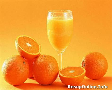 resep minuman es jus jeruk segar  nikmat reseponlineinfo