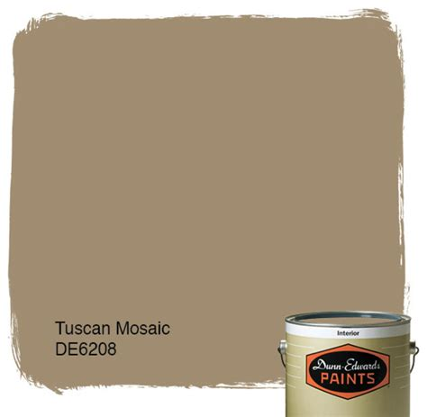 dunn edwards paints tuscan mosaic de6208