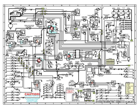 1976 triumph tr6 wiring diagram 1976 get free image