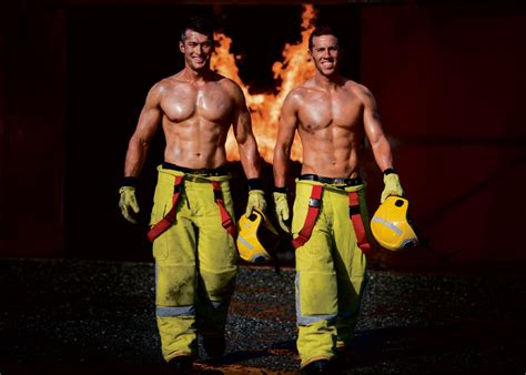 Clarkson Calendar 2017 Perth Firefighters Calendar Clarkson Hunk Sizzles In