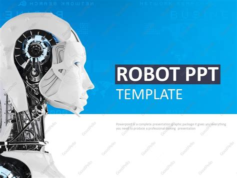 Robot Ppt Goodpello Robot Powerpoint Template