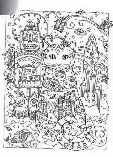 advanced cat coloring pages coloring creative and kittens on pinterest