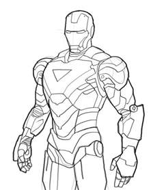 Printable Ironman Coloring Pages Iron Man Coloring Pages Ironman Mark06 Iron Man Coloring by Printable Ironman Coloring Pages