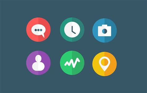 flat design icon video 53 gorgeous sets of flat design icons
