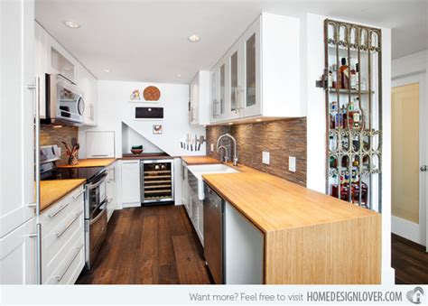 Narrow Home Design Portland by 15 Contemporary U Shaped Kitchen Designs Decoration For