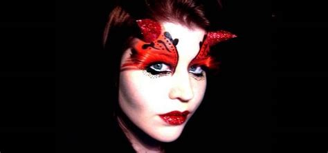 how to apply gothic she devil fairy makeup for halloween