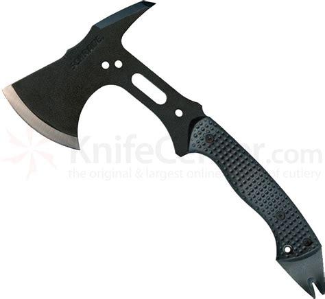 schrade extreme tactical hatchet 12 8 quot overall sk5 steel