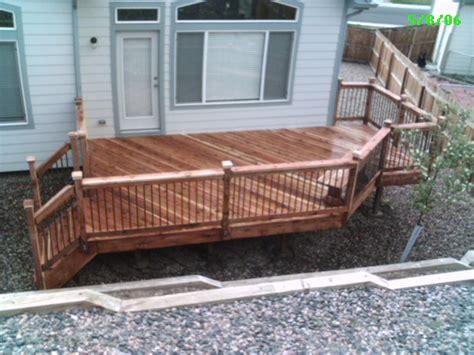 wooden deck wood deck design ideas kitchentoday