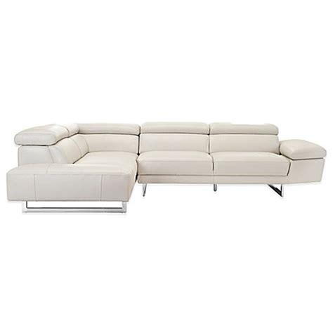 left facing chaise sectional sofa buy safavieh hayes left facing chaise sectional sofa from