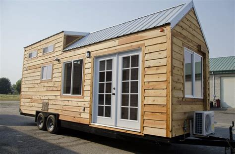 small houses on wheels spacious tiny house on wheels by tiny idahomes