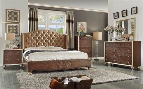paris bedroom set paris shelter brown b1709 bedroom set
