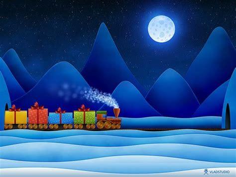 christmas cards merry christmas train card xmas train wishes