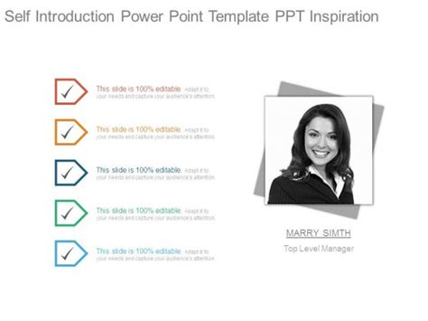 Powerpoint Self Introduction Template Mershia Info Self Presentation Template