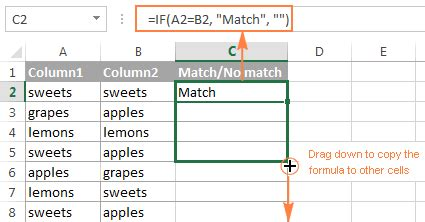 How Can I Compare Data In Two Excel Spreadsheets by Related Keywords Suggestions For Column Excel