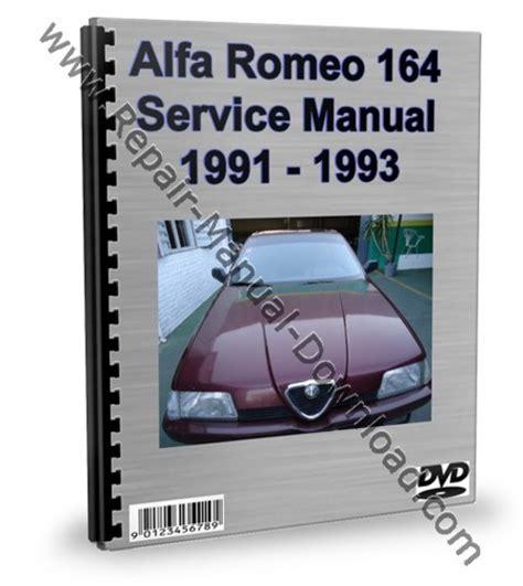 manual repair autos 1993 alfa romeo 164 electronic throttle control alfa romeo 164 service repair manual workshop download download m