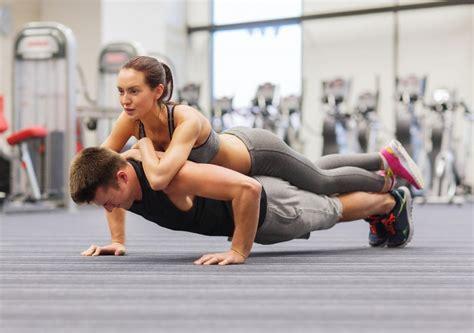 test di coppia da fare in due fitness in due gli allenamenti di coppia workout italia