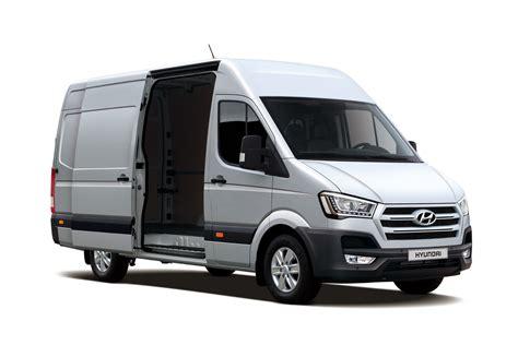 van hyundai hyundai h350 van unveiled auto express