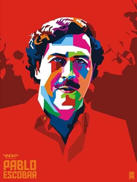Pablo Escobar Drawing