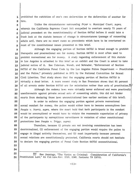 california penal code section 415 prostitution laws unconstitutional sex workers and