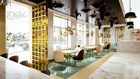 nursing home design concepts lesinska concept renders cafe wedel as a chocolate wonderland