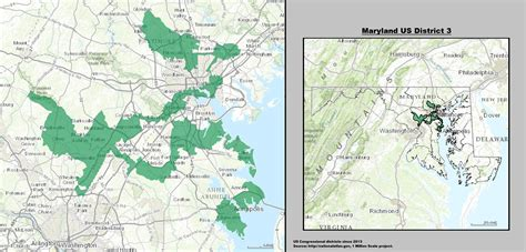 maryland district map how gerrymandering works interestingasfuck
