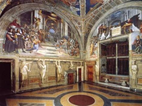 raphael rooms news from rome restoration at raphael rooms colosseum reveals colors italy travel