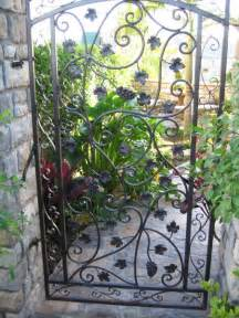 Decorative Iron Gates by Custom Decorative Iron Gates