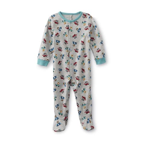 Boys Footed Sleepers by Wonders Newborn Boy S Footed Pajamas Animal
